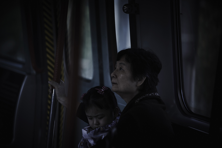 Hong Kong Subway - Moving in the belly of the earth - by Enrico Labriola