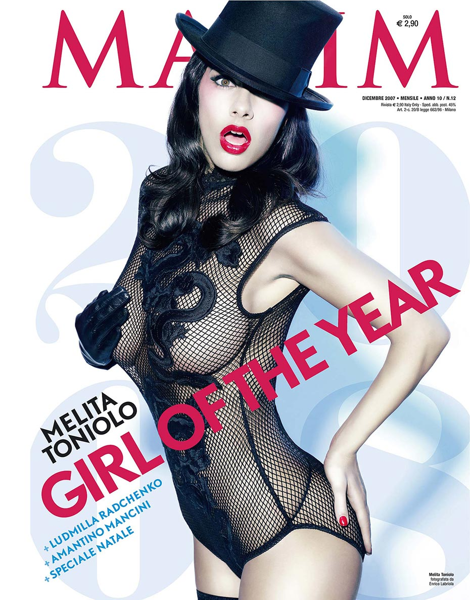 Melita Toniolo - Maxim - by Enrico Labriola