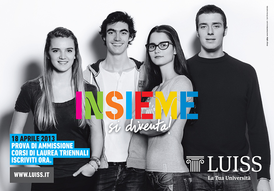 Insieme di diventa - LUISS - by Enrico Labriola