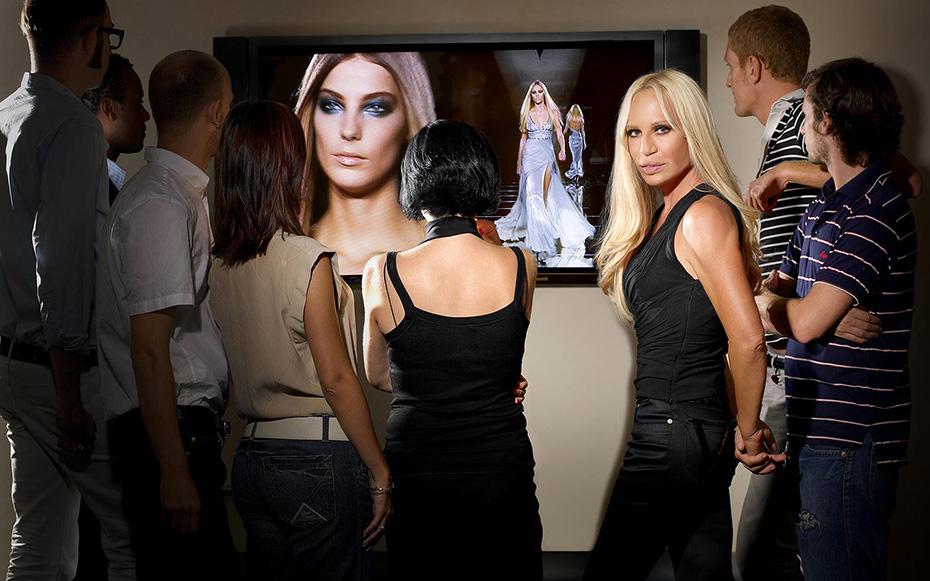 Donatella Versace - A Magazine - by Enrico Labriola