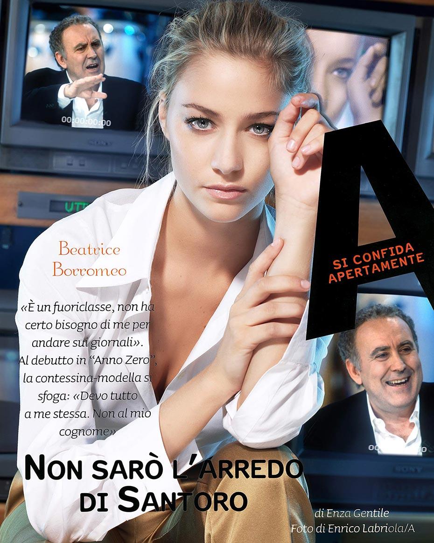 Beatrice Borromeo - A Magazine - by Enrico Labriola