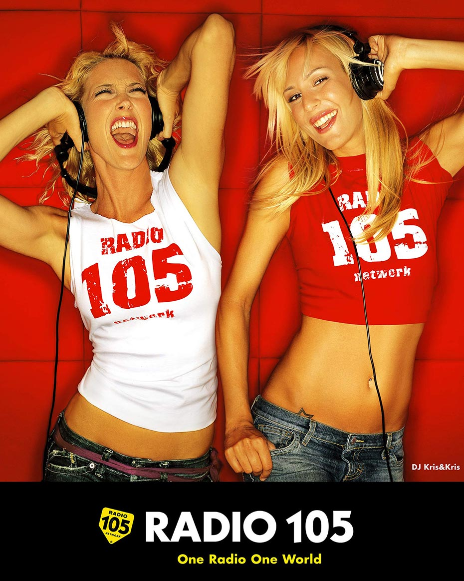Radio 105 - Cris and Cris - by Enrico Labriola